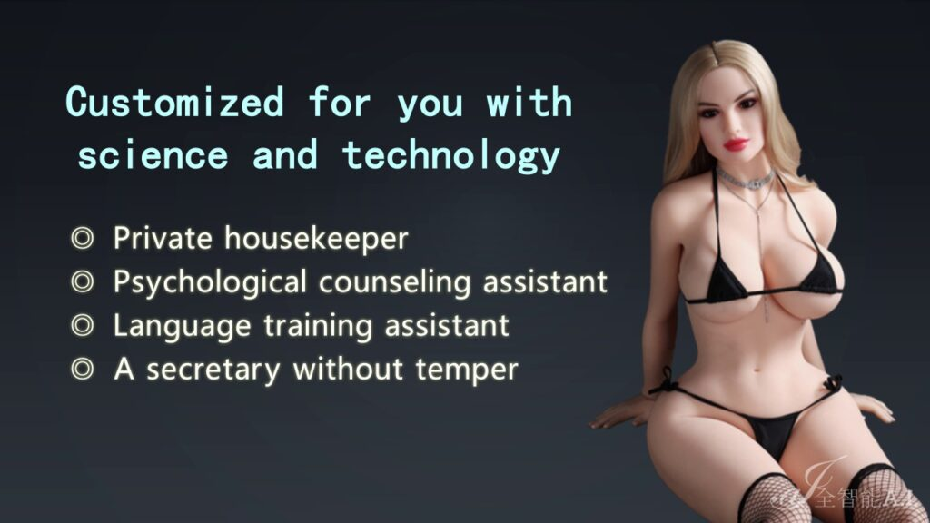 AI-Tech - Presentation of sex dolls with artificial intelligence