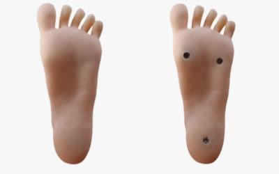 Standing feet vs. Non-standing