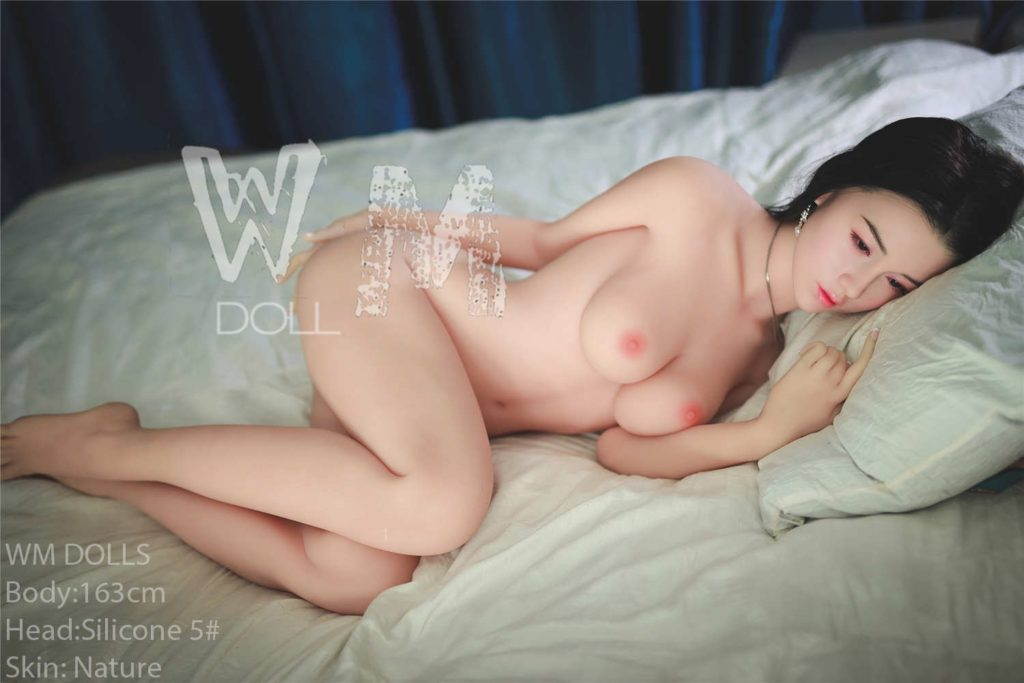 WM Doll - 163 cm. C-cup with silicone head no. 5