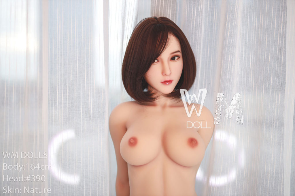 WM Doll - 164 cm. D-cup with Head No. 390 (video 1)
