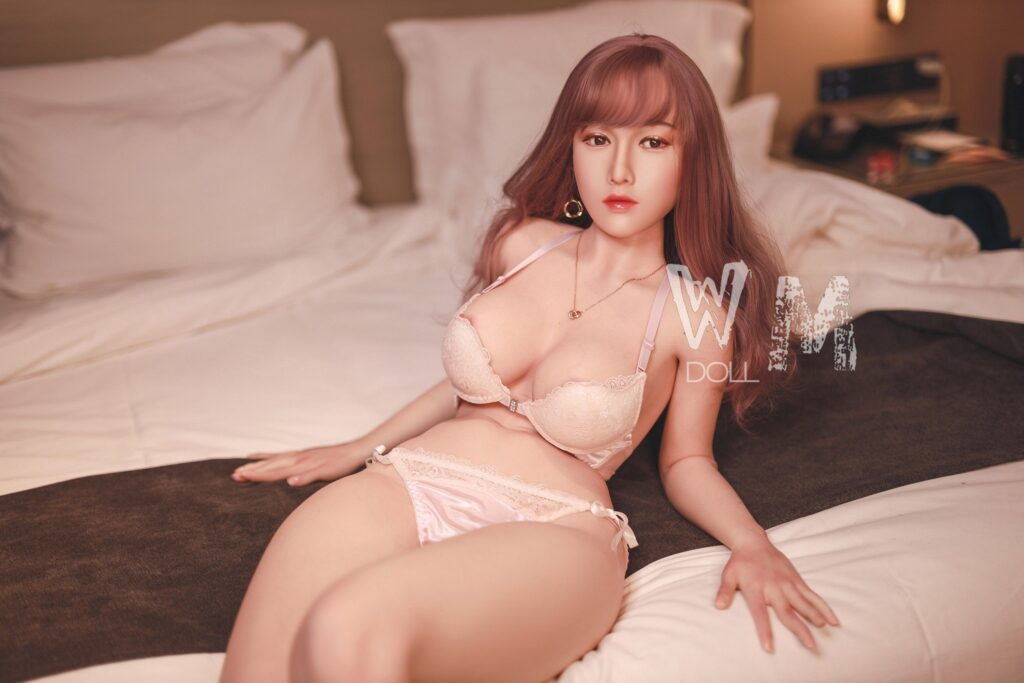 WM Doll - 165 cm. D-cup with Silicone Body and Head No. 10 (video 2)